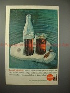 1960 Coke Coca-Cola Ad - Bottle, Be Fully Refreshed!!