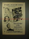 1948 The Miracle of the Bells Movie Ad - Frank Sinatra!