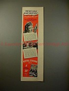 1941 Royal Crown RC Cola Soda Ad - Constance Bennett!!