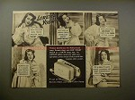 1939 Lux Soap Ad w/ Loretta Young - Smooth and Sweet!!
