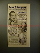 1938 Maxwell House Coffee Ad w/ Frank Morgan - Robust!!