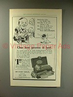 1914 Gem Damaskeene Razor Ad - One Test Proves