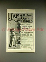 1902 United Fruit Co. Steamship Line Ad - Jamaica