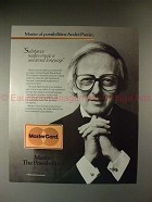 1987 MasterCard Ad with Andre Previn - Music Universal!