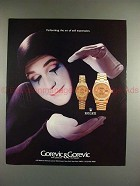 1988 Rolex Datejust Watch Ad - Performing Expression!!