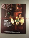 1990 Rolex Lady Datejust, Datejust, Day-Date Watch Ad!!