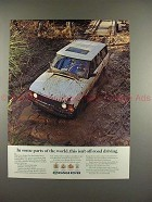 1991 Range Rover Ad - This Isn't Off-Road Driving!!