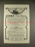 1926 Thos. Cook & Son Cruise Ad - Franconia, Homeric - Supreme