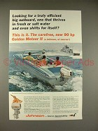 1965 Johnson Golden Meteor II Outboard Motor Ad!