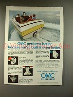 1979 OMC Stern Drive Motor Ad - Built Even Better