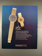 1986 Rolex Cellini Watch Ad - The Italian Renaissance!!