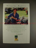 1994 Miracle-Gro Ad w/ Dorothy Hamill - Olympic Gold!!