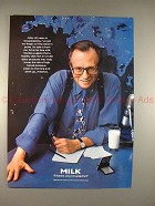 1997 Milk Ad w/ Larry King - Where's Your Mustache?!