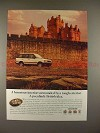 1998 Range Rover Ad - A Particularly British Idea!!