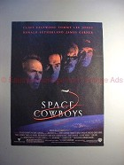 2000 Space Cowboys Movie Ad - Eastwood Sutherland Jones