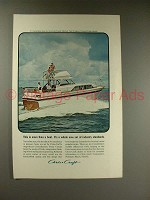1964 Chris-Craft 37ft Constellation Boat Ad!
