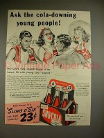 1941 Sno-Cola Soda Ad - Ask the Cola-Downing People