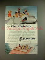 1959 Evinrude Starflite II Outboard Motor Ad, Lucky You