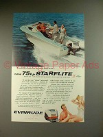 1959 Evinrude Starflite II Outboard Motor Ad - Special