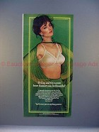 1980 Playtex Support Can Be Beautiful Bra Ad - Dynamite