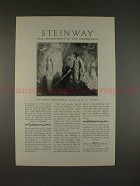 1928 Steinway Piano Ad, King's Henchman by N.C. Wyeth!!