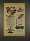 1926 Parker Duofold Desk Sets Pen Ad - First Christmas!