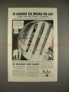 1934 Parker Vacumatic Pen Ad - Discover Wished-for Gift