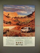 1995 Land Rover Discovery Ad - Bring Child Into World!