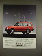 1995 Land Rover Discovery Ad - An Accident Waiting!!