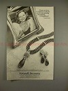 1982 Fortunoff Jewelry Ad w/ Lauren Bacall - Amethysts!