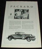 1929 Packard Car Ad, Industrial Craftsman!