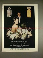 1980 White Shoulders Perfume & Baron Cologne Ad
