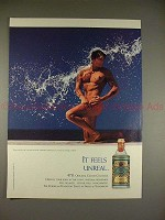 1994 R.B. Fragrances 4711 Cologne Ad - It feels unreal!