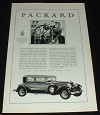 1929 Packard Car Ad, New England Clipper!!