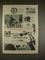 1965 Yamaha Rotary Jet 80 Motorcycle Ad, Greatest Going