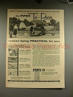 1956 Piper Tri-Pacer Airplane Ad - Practical for You