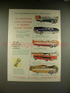 1956 Studebaker, Packard Caribbean, Clipper Car Ad!