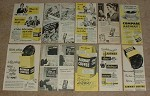 HUGE Lot of 36 Airway Coffee Ads, 1943-1953 - NICE!!