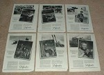 Large Lot of 12 WWII Defender Photo Supply Ads - NICE!!