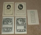 Large Lot of 5 Mellin's Food, Baby Food Ads - 1890-1914