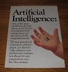 1986 4-page Texas Instruments Advertisement - Artificial Intelligence