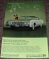 1967 Oldsmobile Ninety-Eight Car Ad, Quality!