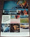 1966 Pontiac GTO Car Ad, Beautiful Really Be A Tiger!!