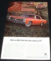 1967 Pontiac LeMans Hardtop Sprint Option Ad!