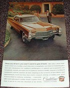 1968 Cadillac Car Ad Won't Want to Give Back!