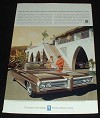 1969 Pontiac Bonneville Ad, Shock Absorbers!!