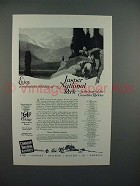 1925 Canadian National Railways Ad - Mountain Holiday