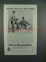 1926 Great Northern Railroad Advertisement- Adventure Land