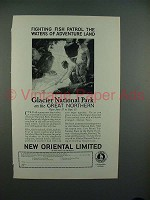 1926 Great Northern Railroad Ad - New Oriental Limited