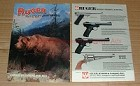 1987 8-page Ruger Gun / Rifle Ad - Full Line - NICE!!